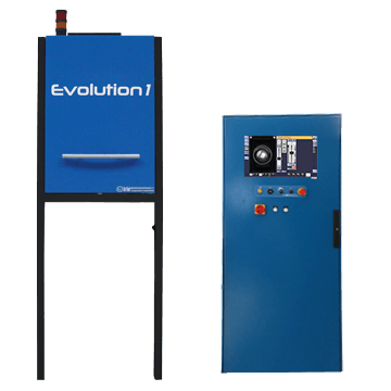Evolution 1 : stand-alone finish glass inspection machine